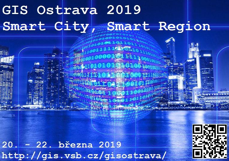GIS Ostrava 2019 @ Nová aula - Kongresové centrum VŠB-TUO, Ostrava,